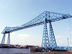 Middlesbrough Transporter Bridge - Photograph by Paul Stamp